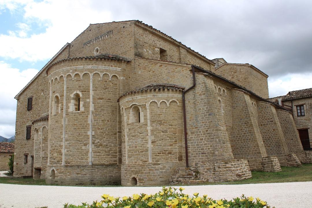 L'edificio dell'abbazia
